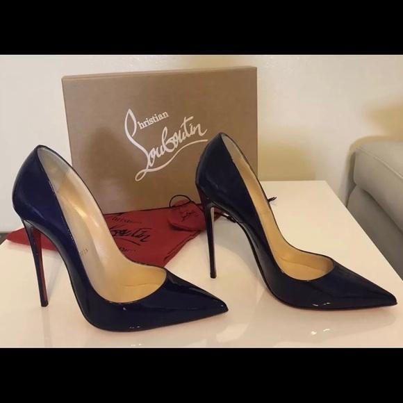 7b1713e4a3 Christian Louboutin Shoes - Christian Louboutin So Kate 120mm Encre size 37